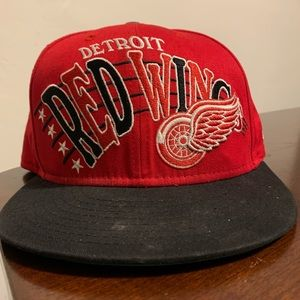 New Era NHL Detroit Red Wings Spellout Snapback